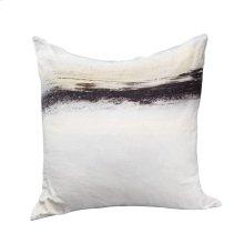 Fog Velvet Feather Cushion 25x25