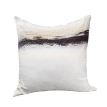 Fog Velvet Feather Cushion 25x25
