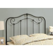 BED - QUEEN OR FULL SIZE / COFFEE HEADBOARD OR FOOTBOARD