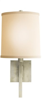 Visual Comfort BBL2028PWT-L Barbara Barry Aspect 11 inch 75 watt Pewter Finish Swing-Arm Wall Light