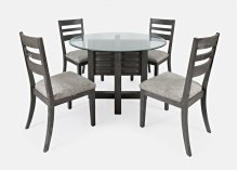 Altamonte Ladderback Chair (2/ctn) - Brushed Grey