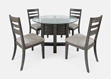 Altamonte Ladderback Chair (2/ctn) - Brushed Grey