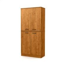 4-Door Armoire - Country Pine