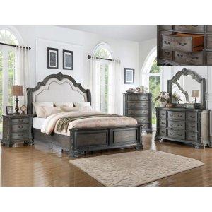 Crown Mark B1120 Sheffield Antique Grey Queen Bedroom