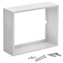 Surface Mount Kit,White enameled steel, For Broan Comfort-Flo Wall Heaters