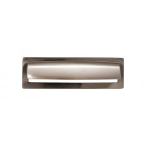 Hollin Cup Pull 5 1/16 Inch - Brushed Satin Nickel