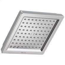 Chrome Single-Setting Raincan Shower Head