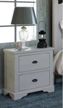 Bedroom HH-4270 Collection - 2 Drawer Nightstand - Sunset Trading