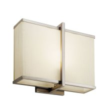 "Rigel 10"" LED Wall Sconce Satin Nickel"