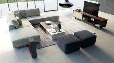 Perry Armless Corner Sofa Product Image