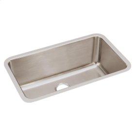 "Elkay Lustertone Classic Stainless Steel 30-1/2"" x 18-1/2"" x 11-1/2"", Single Bowl Undermount Sink"