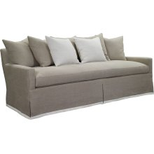 Silhouettes Sofa with Dressmaker Skirt