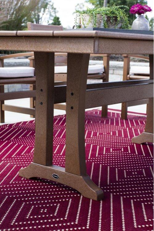 """Sand Farmhouse 37"""" x 72"""" Dining Table"""