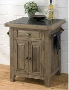 Slater Mill Pine Kitchen Cart Product Image