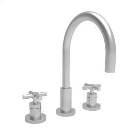 Stainless Steel - PVD Widespread Lavatory Faucet