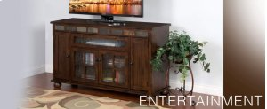 "Oxford 62"" Counter Height TV Console"
