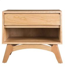 Mitre Low Profile Nightstand