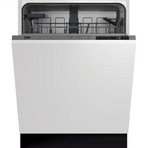 BekoTop Control, Panel Ready Dishwasher, 5 Programs, 48 dBA
