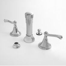 Bidet Set with Charlotte Elite Handle