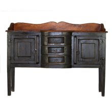 Henriette Black/Walnut Sideboard