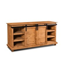 HH-2021-066  Rustic Barn Door Sideboard  TV Stand  Buffet