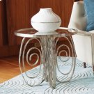 Weathervane Side Table-Nickel Product Image