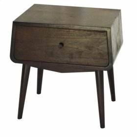 Asta End Table, Brown