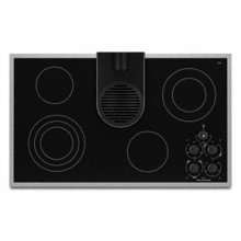 "4 Elements Pure Ceramic Glass Surface with Built-in Downdraft Vent Electric 36"" Width Architect® Series II"