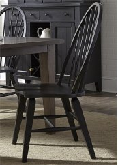 Windsor Back Side Chair - Black