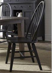 Windsor Back Side Chair - Black