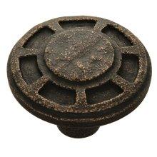 Riverside Knob - Antique Satin Bronze