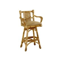 24'' Bar Stool, Available in Natural Finish Only.
