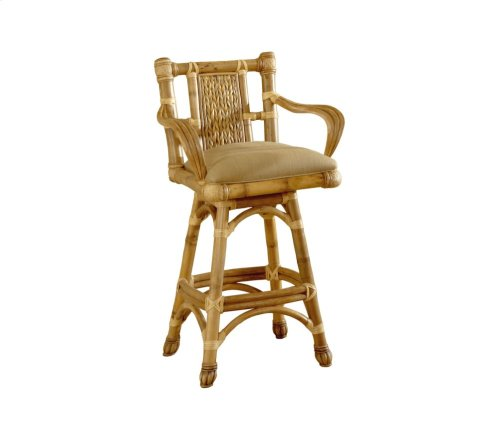 30'' Bar Stool, Available in Natural Finish Only.