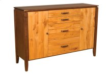 Heartwood 4 Drawer Sideboard