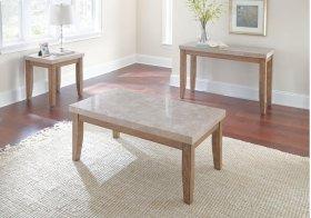 "Franco Marble Top Sofa Table 48""x 18"" x 30"""