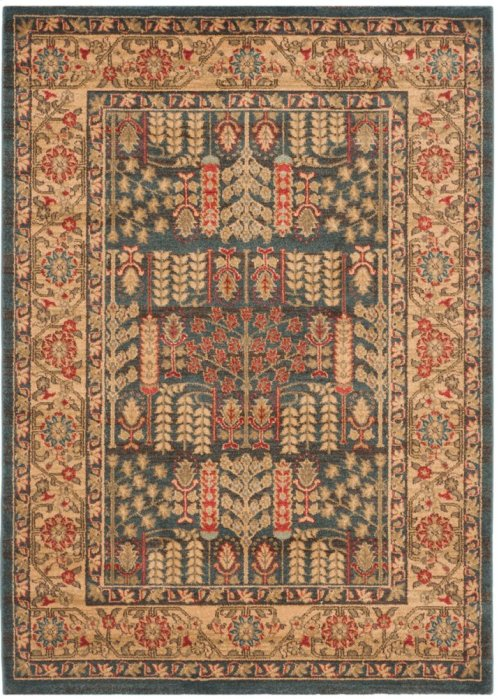 Mahal Power Loomed Round Rug