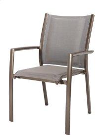 Padded Sling Arm Dining Chair (2/ctn)