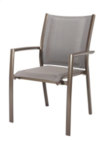 Padded Sling Arm Dining Chair (2/ctn)