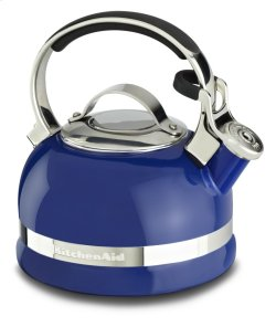 2.0-Quart Kettle with Full Stainless Steel Handle and Trim Band - Doulton Blue