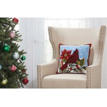 "Home for the Holiday Yx099 Multicolor 18"" X 18"" Throw Pillows"