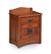 Grant Nightstand with Doors