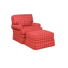 Kelly Swivel Chair, Kelly Ottoman