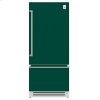 "Hestan 36"" Bottom Mount, Bottom Compressor Refrigerator - Krb Series - Grove"