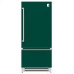 "Hestan36"" Bottom Mount, Bottom Compressor Refrigerator - KRB Series - Grove"