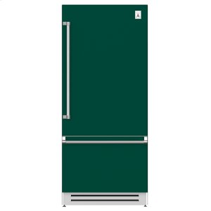 "Hestan36"" Bottom Mount, Bottom Compressor Refrigerator - KRB Series - Grove"