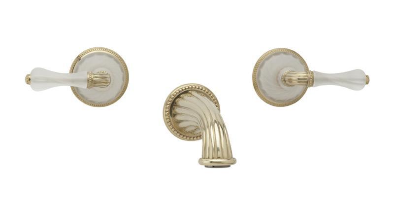 MIRABELLA Wall Tub Set K1234 - Polished Brass