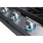 "36"" Smart Gas Cooktop With 22k Btu Dual Power Burner In Stainless Steel"