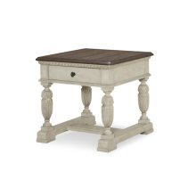 Renaissance Rectangular End Table