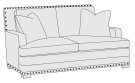 Cantor Loveseat in Molasses (780) Product Image