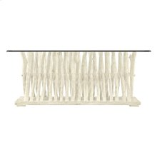 Coastal Living Resort Driftwood Flats Cocktail Table In Sail Cloth